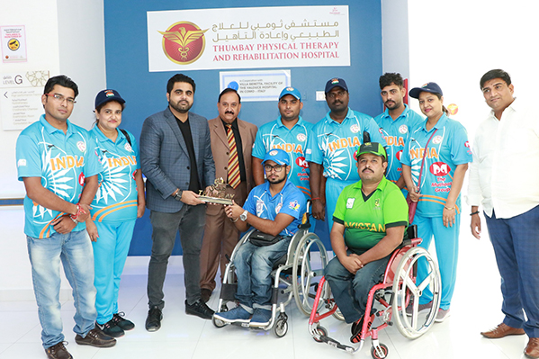 wheelchair cricketers